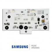Placa de Controle do Painel da Porta do Freezer Refrigerador Samsung RS21HDTSW, RS21HDUPN, RS21HDUSW