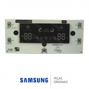 Placa de Controle do Painel da Porta do Freezer Refrigerador Samsung RSH1DTMH1, RSH1DTSW1, RSH1FTPE1