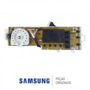 Placa de Função / Interface Lavadora Samsung WF106U4SAWQ/AZ, WF106U4SAWQFAZ