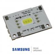Placa de Iluminação Interna de LED para Refrigerador Samsung RF263BEAESL, RL220NCTASL