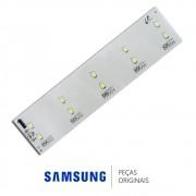 Placa de LED 12v para Refrigerador Samsung RF62TBPN, RL62TCPN, RL62TCSW
