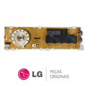 Placa Display / Interface 110/220V 6871ER1093C Lava e Seca LG WD-14312RD