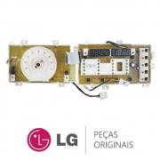 Placa Display / Interface 110/220V 6871ER2019U para Lava e Seca LG WD-13436RD, WD13436RN