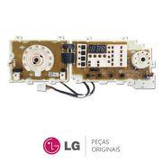 Placa Display / Interface 110/220V EBR39219612 Lavadora LG WD-1409FD