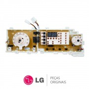Placa Display / Interface 110/220V EBR39219613 / EBR39219639 Lava e Seca LG WD-1409RD, WD-1409RDA