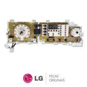 Placa Display / Interface 110/220V EBR39219636 para Lavadora LG WD-1409FDA