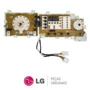 Placa Display / Interface 110V EBR39219618 Lavadora LG WD-1403FD