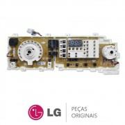 Placa Display / Interface 110V EBR63709762 Lava e Seca LG WD-1410RD, WD-1410RD5