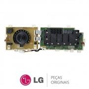 Placa Display / Interface 110V EBR74143680 / EAX65648101 Lava e Seca LG WD1485AT, WD1485AT7B