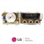 Placa Display / Interface 110V Lava e Seca LG WD1252RD, WD1252RW