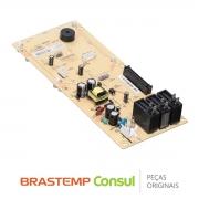 Placa Display / Interface 127/220V W10634207 Micro-Ondas Brastemp BMJ38AR
