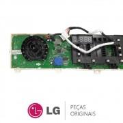 Placa Display / Interface 127V EBR82683031 Lava e Seca LG WD9WE6