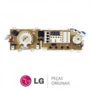 Placa Display / Interface 220V EBR67836628 Lava e Seca LG WD-1485ADA, WD-C1485ADA, WD-W1485ADA