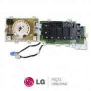 Placa Display / Interface 220V EBR74143641 Lava e Seca LG WD1412RTA, WD1412RTA5, WD1412RTA7B