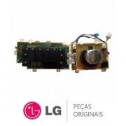 Placa Display / Interface 220V EBR74143681 Lava e Seca LG WD1485ATA, WD1485ATA7B, WD1485ATAB