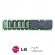Placa Display / Interface EAX60509703 EBR60221812 Refrigerador LG GR-P246CSP, GR-P246CSP1