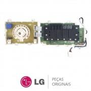 Placa Display / Interface EBR78770644 Lava e Seca LG WD11EP6A, WD11WP6A, WD1412RTA7B, WD1412RTAB