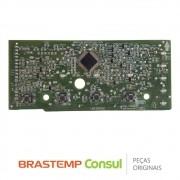 Placa Display / Interface Newton 326057062 Lavadora Consul CWL75A, CWL10BB (Seminovo)