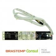 Placa Display / Interface W10400375 Ar Condicionado Consul CBU07CB, CBU07DB, CBU09CB, CBU09DB