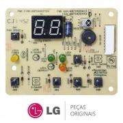 Placa Display / Receptora Ar Condicionado LG WGE076FG, WGE076FGA, WGE106FG, WGE106FGA