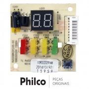 Placa Display / Receptora para Ar Condicionado Britânia e Philco BR18000FM5, PH18000FM5, PH18000QFM5