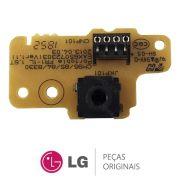 Placa Display / Receptora + Placa Microfone EAX64911003 / EBR76301622 Mini System LG CM8330 CM8430