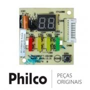 Placa Display / Receptora RD32GBKFT-XS(HB) Ar Condicionado Philco BR9000QFM5 PH9000QFM5 PH9000TQFM5