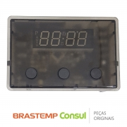 Placa Display / Relógio Eletrônico 481010383718 / 326076094 Forno Elétrico Brastemp BO360AR