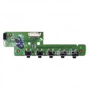 Placa Função e IR (Receptora do Controle Remoto) para TV Philco PH32B51DSGW, PH39N91DSGW PH43N91DSGW