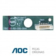 Placa IR / Receptora do Controle 715G7381-R01-000-004K TV AOC LE48D1452