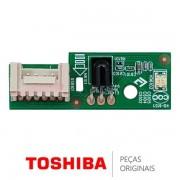 Placa IR / Receptora do Controle Remoto 35019001 para TV Semp Toshiba 32L2400