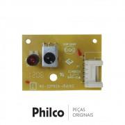 Placa IR / Receptora do Controle Remoto 40-32P60A-IRA1XG para TV Philco PH32E, PH32M4, PH42M2