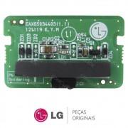 Placa IR / Receptora do Controle Remoto EBT62358801 TV LG 32LN549C, 39LN5400, 42LN5400