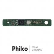 Placa IR / Receptora do Controle Remoto JUC7.820.00082271 TV Philco PH43C21P 3D PH51C20PSG 3D
