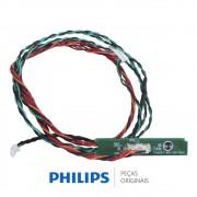 Placa IR / Receptora do Controle Remoto para TV Philips 32PHG5000, 32PHG5109, 40PFG4309
