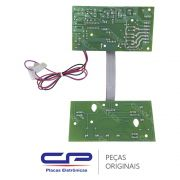 Placa Potência / Principal com Placa Interface / Display 326006689 Lavadora Consul CWC24A