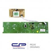 Placa Potência / Principal com Placa Interface / Display W10301604 Lavadora Brastemp BWL11AR