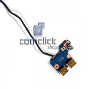 Placa Power ON (Botão Ligar) para Notebook Samsung NP300E4A, NP300V4A