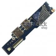 Placa Power ON (Botão Ligar) para Notebook Samsung NP530U3B, NP530U3C, NP540U3C