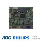 Placa Principal 715G4502-M01-BRA-004L Monitor AOC Philips 196V3LSB2