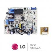 Placa Principal + EEPROM ABQ74406101 / EAX61110207 Evaporadora Ar Condicionado LG USNC072W4W0