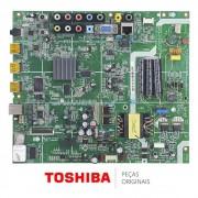 Placa Principal para TV Semp Toshiba LE40571