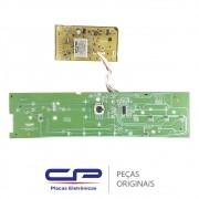 Placa Principal + Placa Interface / Display 127/220V W10308925 / W10540663 Lavadora Brastemp BWL09B