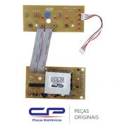 Placa Principal / Potência com Placa Interface / Display W10344774 Lavadora Consul CWL10B, CWL75A