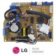 Placa Principal / Potência Evaporadora EBR76229302 EAX64346007 Ar Condicionado LG ASNQ242, ASNW242, USNQ092