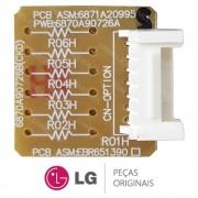 Placa Sub da Evaporadora EBR651390 / 6870A90276A Ar Condicionado LG TSNH1828FW5, TSNH1828RM0