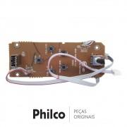 Placa USB e Volume para Som Portátil Philco PB350BT, PB350BTB