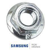 Porca do Motor Ventilador 6021-000225 / 6021-001868Lava Seca Samsung WD0854W8E1 WD8854RJZ1
