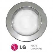 Porta Completa Cromada ADC33666408 Lavadora LG WD-1403FD, WD-1403FDA, WD-1409FD, WD-1409FDA