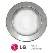 Porta Completa Cromada para Lava e Seca LG WD-1409RD, WD-1409RD5, WD-1409RDA, WD-1409RDA5